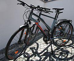 Zwei Trekkingbikes von Ghost.
