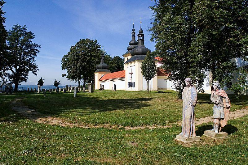 Der katholische Wallfahrtsort Maria Loreto.