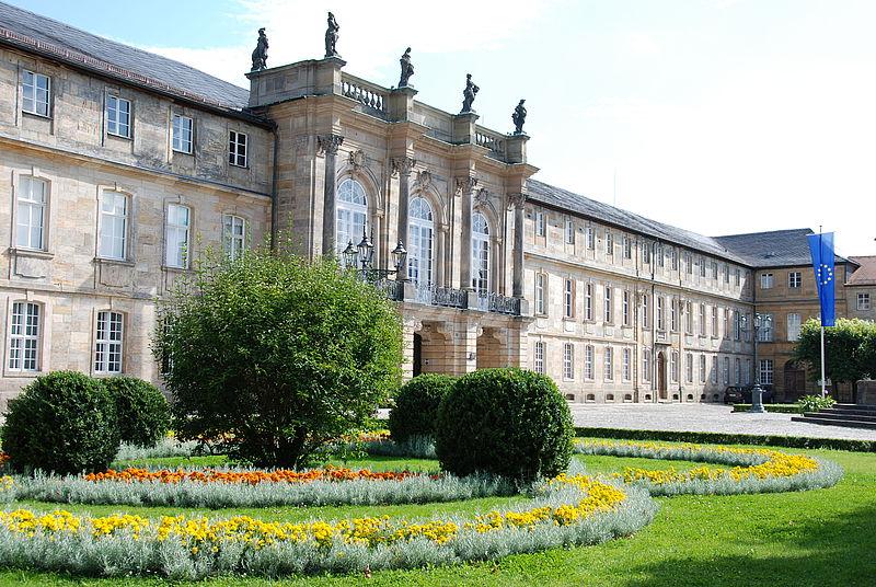 Das Neue Schloss in Bayreuth.