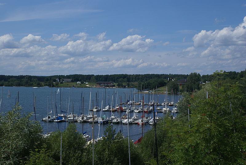 Der Steinberger See.