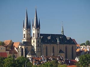 Die Nikolauskirche in Cheb.